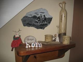 hope shelf before