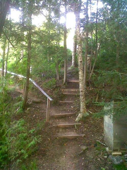 minden stairs