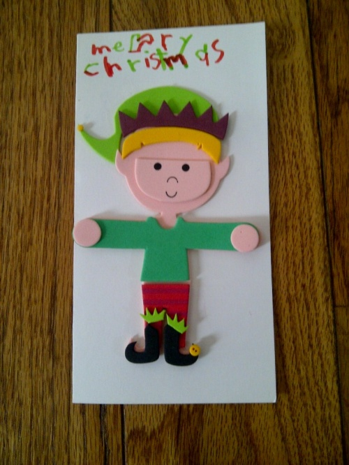 Christmas card 2012 part 1