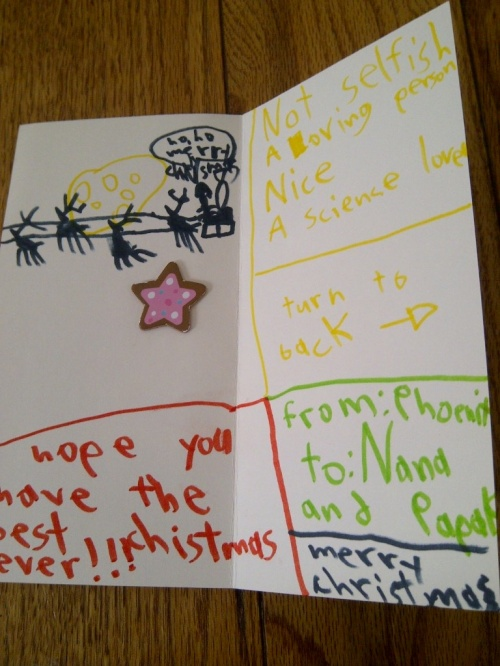 Christmas card 2012 part 2