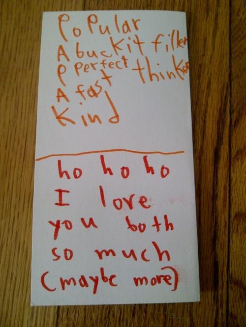 Christmas card 2012 part 3