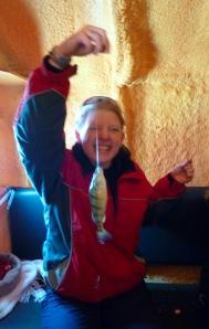ice fishing - Anneke