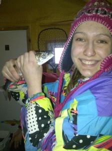 ice fishing - Monika