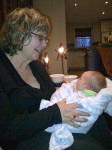karen and Lesley's baby