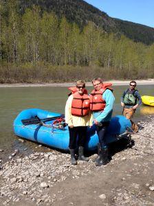 rafting in Juneau