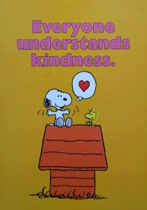 everyone understands kindness