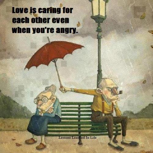 love is caring..