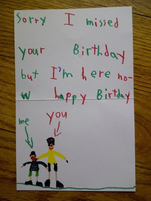 nana 's birthday card from Phoenie 2013
