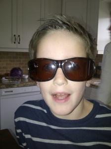Phoenie in my sunglasses