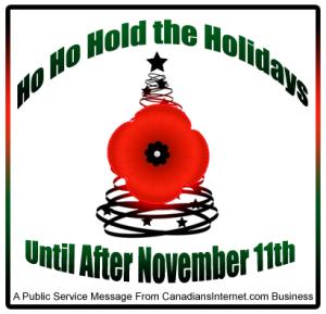 HO HO HOLD the holidays