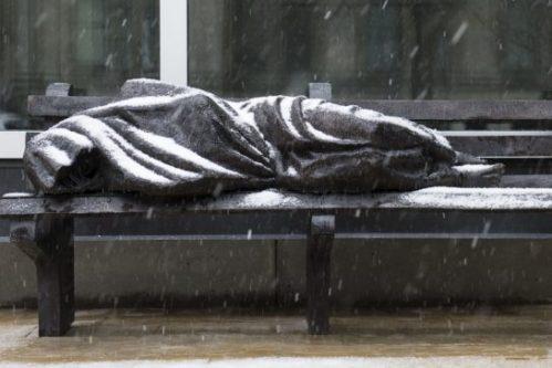 Homeless Jesus
