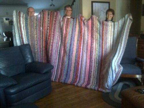 2913 sunset blanket - finished
