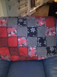 Ed's blanket