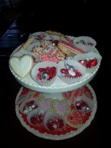 Linda's valentine cookies
