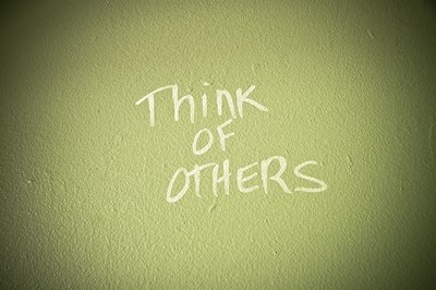think of others