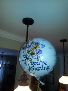 You're amazing balloon