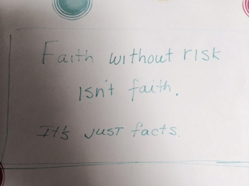 faith without risk