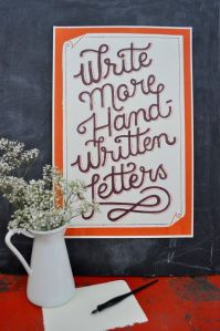 write more hand written letters 2