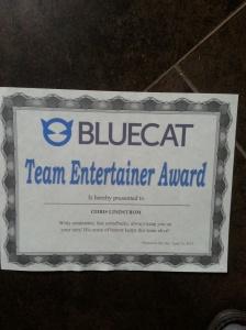 Bluecat Team Entertainer
