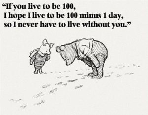 winnie the pooh - about love