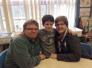 Grandparents Day Papak,Nana and I
