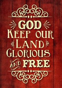 God keep our land..