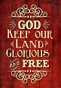 God keep our land..